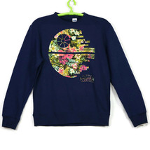 Star Wars Death Flower Mens Womens Sweatshirt Shirt Size M Medium Blue F... - $44.50