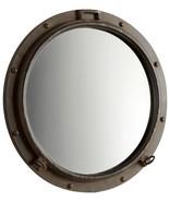 CYAN DESIGN PORTO Wall Mirror Gold Leaf Rustic Bronze Iron - $459.00