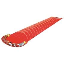 "Pool Central 16.5FT Crimson Red ""Stock Car"" Ground Level Water Slide - $21.77"
