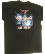 Vintage Harley Davidson Cafe Las Vegas Mens Black T-Shirt XL - $28.45
