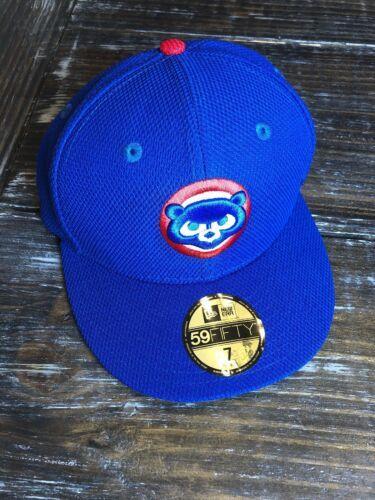 "Chicago Cubs New Era MLB Royal Cub Head Diamond Era 59FIFTY OSFA 7"" Hat"