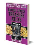 United States Treasure Atlas Volume 9 ~ Lost & Buried Treasure - $29.95
