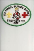 1992 Eastern Arkansas Area Council 5th Shawnee District First-Aid-O-Ree ... - $5.35