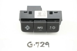New OEM Cadillac ATS CTS Corvette Heads Up Display Switch 2014-2019 2277... - $34.65