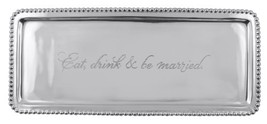 "Mariposa ""Eat, drink & be married"" Tray - $57.71"