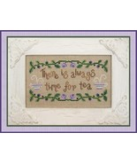 Time For Tea cross stitch chart Country Cottage... - $5.40