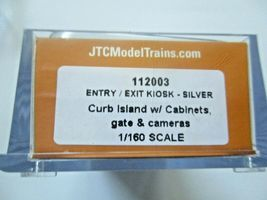 Jacksonville Terminal Company # 112003 Entry/Exit Kiosk Silver N-Scale image 3