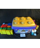 Duplo Limited Edition 50th Anniversary storage container with 144 bricks... - $165.29