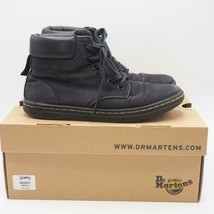 Dr. Martens Maelly Black Canvas Lace Up Ankle Boots Size 7 - $34.64