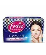 Fem Diamond Crème Bleach, Sparkling Shine, 30gm (Pack of 2) - $9.79