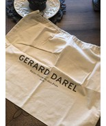 NEW Gerard Darel Natural Cotton Dust Bag for Handbag Purse Shoe Bag Trav... - $10.00