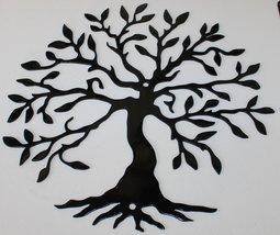 Tree of Life 2 Metal Wall Art- Gloss Black - $12.50+