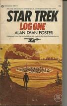 Star Trek Log One ORIGINAL Vintage 1974 Paperback Book Ballantine Alan D... - $19.79
