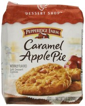Pepperidge Farm Caramel Apple Pie Soft Dessert Cookies Limited Edition - $14.84