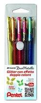 Pentel Hybrid - Dual Metallic - Liquid Gel Rollerball Pen - K110 - Singl... - $3.29