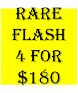 SPECIAL SUN  FLASH PICK ANY 4 FOR $180 DEAL BEST OFFERS MAGICK  - $0.00