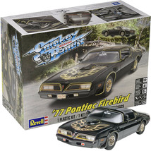 Revell Smokey and the Bandit 1977 Pontiac Firebird 1:25 Scale Plastic Mo... - $34.65
