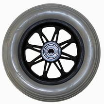 "6 x 1 1/4"" Jazzy 6 Spoke Wheelchair Caster Wheels (Pair) - $58.00"