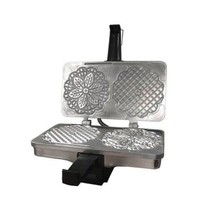 CucinaPro Polished Kitchen Pizzelle or Cannolo Baker Italian Waffle Cook... - $73.18 CAD