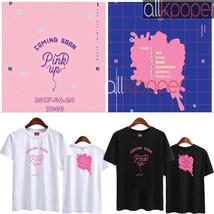 KPOP Apink Park Cho Rong T-shirt Pink Up Album Jung Eun Ji Tshirt 2017 N... - $10.38