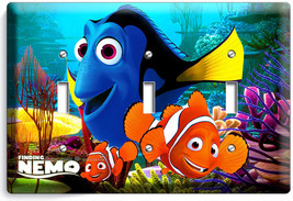 Finding Nemo Clown Fish Dory Sea Coral Reef Triple Light Switch Wall Plate Oc EAN - $16.19