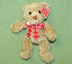 "GUND SMUCKERS BERRY PATCH BEAR STUFFED ANIMAL 9"" TEDDY STRAWBERRY RIBBON... - $23.76"