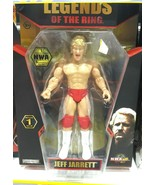 NWA Jeff Jarrett Action Figure Wrestling Legends of The Ring Series 1 - $39.57