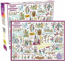 Aquarius Charlie and The Chocolate Factory 500 Pieces - $28.70
