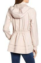 Bernardo Womens Lt Pink Wind Proof Water Resistant Breathable Raincoat Jacket XL image 5