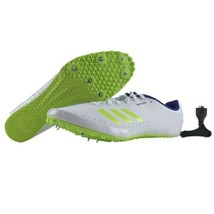Adidas Track Spikes Womens Size 10 Sprintstar Running Shoes White and Fi... - $59.95