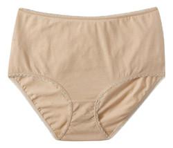 Secret Treasures Women's Brief Panties Assorted 3-Pair Mauve Floral, 3XL 10 - $19.99