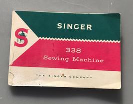 Vintage singer 338 sewing machine manual - $14.74