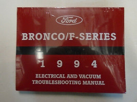 1994 Ford F150 F250 F-250 350 Bronco F SERIES Electrical Wiring Diagrams... - $108.85