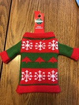 Holiday Wine Bottle Sweater Dressing - Ships N 24h - $14.80