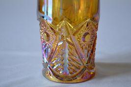 2 L E Smith Carnival Glass Valtec Tumblers image 9