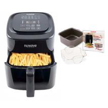 Nuwave Brio Air Fryer 6 qt. Air Fryer w/ Gourmet Accessory Kit & Baking Pan - €205,64 EUR
