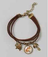 Girls Jewelry Owl Bee Mod Brown Fox Charm Bracelet MSRP $22.00 SAVE $5.01 - $16.99