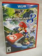Mario Kart 8 Wii U - Case, Artwork & Manual - NO GAME DISC - Free Shipping - $9.99