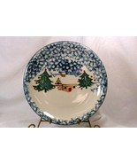 Tienshan Cabin In The Snow Dinner Plate - $5.54