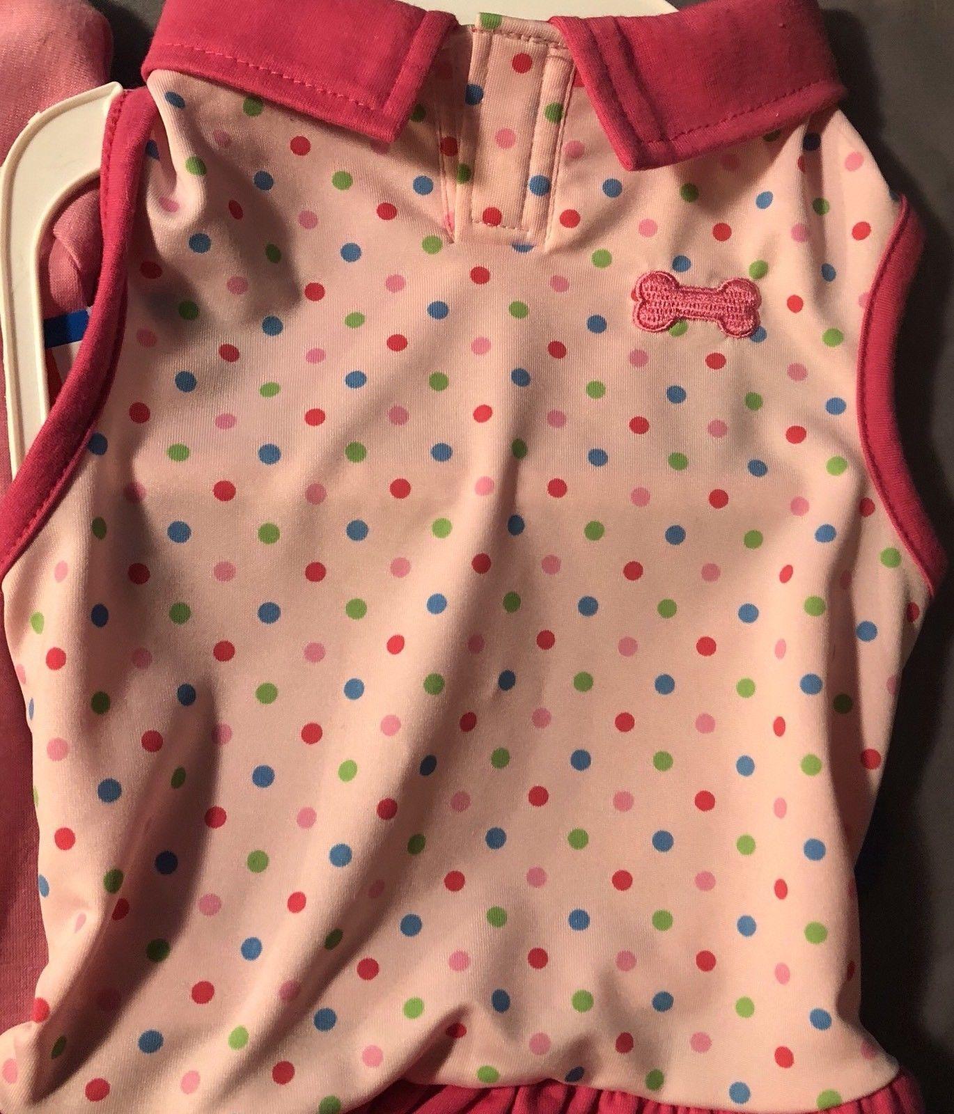 Dog Clothing Lot of 3 Medium Shirt Tee Sweater Dress Boy Girl Unisex