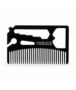 QSHAVE® Multifunctional Utility Beard Comb Fits In Your Wallet Comb,Bott... - $13.38