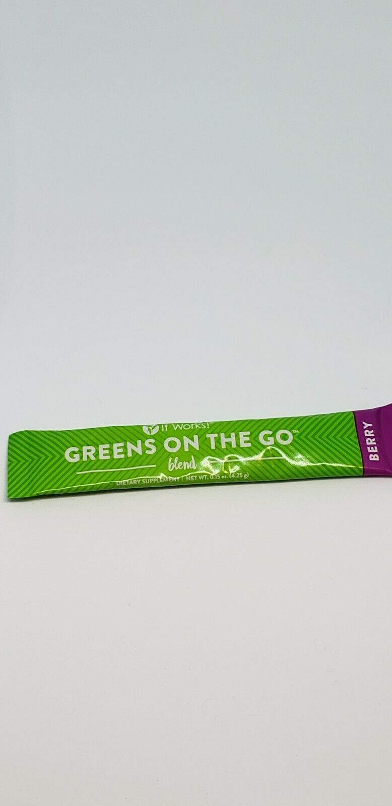 Primary image for It Works Greens On The Go/ Berry Flavor