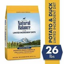 Premium Natural Balance L.I.D. Limited Ingredient Diets Dry Dog Food, Potato... - $73.85