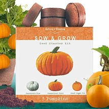 Nature's Blossom Sow and Grow Garden Kits - Complete Seed Starter Seeds for Begi