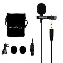 Lavalier Lapel Microphone Mic Clip Wireless System Mini Fm Transmitter R... - $21.59