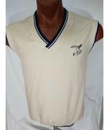 VTG Kelley Greens Golf AM Player 100% Nylon Pullover V-Neck Vest Mens Si... - $20.95