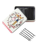 Black Bobby Pins Slides Hair Clips Kirby Grips Clamps Salon Hairdressing... - $12.57