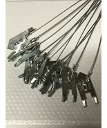 "12 WOLF FANG HEAVY DUTY EARTH ANCHORS 12"" STAKES [TRAPS TRAPPING SNARES]... - $16.93"