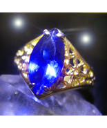 HAUNTED RING THE DJINN TO THOUSANDS OF KINGS AND QUEENS GENIE VESSEL MAG... - $550.77