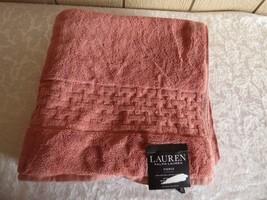 """$34.00 Lauren Ralph Lauren Pierce Bath Towel 30"""" x 56"""", Nantucket Red - $8.17"""